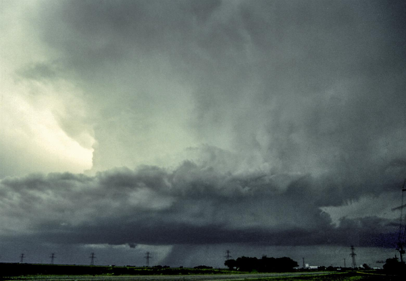 Supercell at Stamford, TX.
