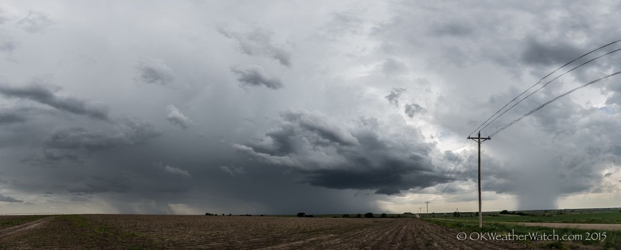 Looking west from 6.9 miles southwest of Ragan, NE (3:47 pm CDT)